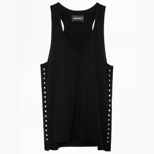 Zadig & Voltaire Studded Tank